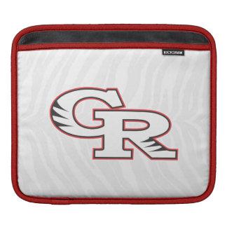 GR zebra print iPad sleeve