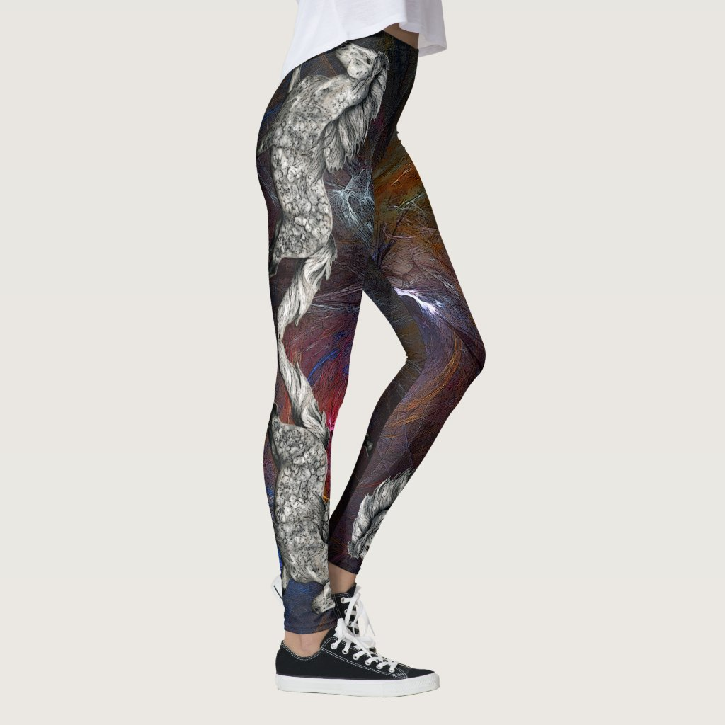 Grá Charismatic  Nebula Leggings
