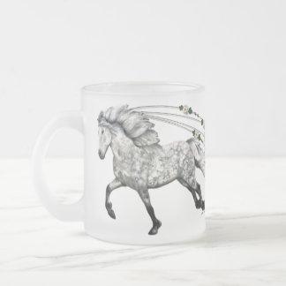 Grá Frosted Glass Coffee Mug