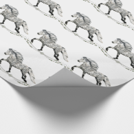 Grá Wrapping Paper