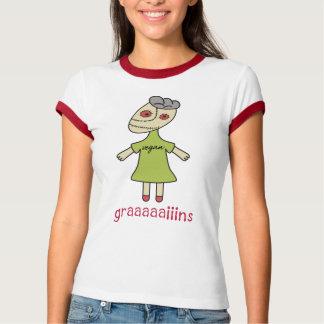 Graaaaaiins Vegan Zombie T-Shirt