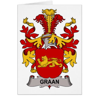 Graan Family Crest Cards