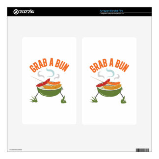 Grab A Bun Kindle Fire Decal