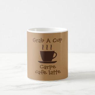 GRAB A CUP - Carpe Cafe Latte -
