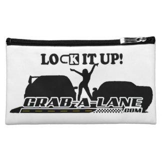 """GRAB-A-LANE """"LOCK IT UP"""" RACER CASH BAG"""