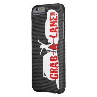 GRAB-A-LANE ORIGINAL LOGO iPhone6 Case - White/CF