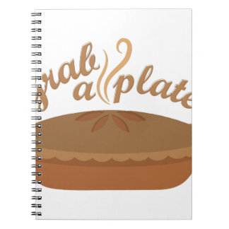 Grab A Plate Notebook