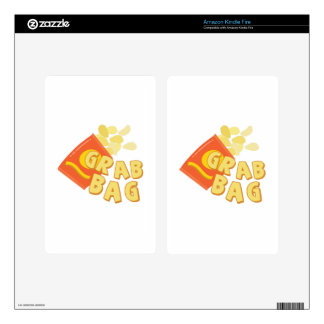 Grab Bag Decals For Kindle Fire