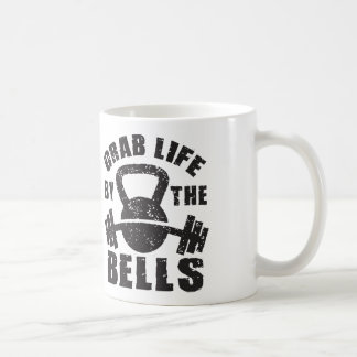 Grab Life By The Bells - Workout Motivational Coffee Mug