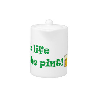 GRAB LIFE BY THE PINT