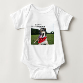 Grab Life by the Tail and HANG ON TIGHT! Baby Bodysuit