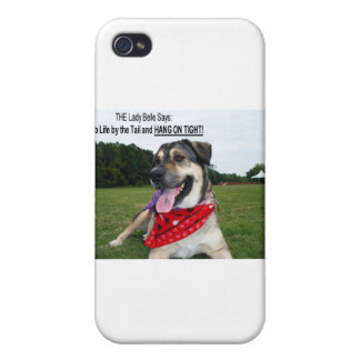 Grab Life by the Tail and HANG ON TIGHT! Covers For iPhone 4