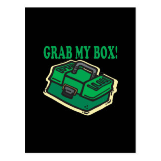 Grab My Box Postcard
