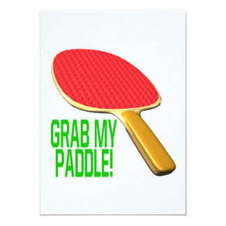 Grab My Paddle Personalized Announcements