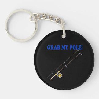 Grab My Pole Keychain