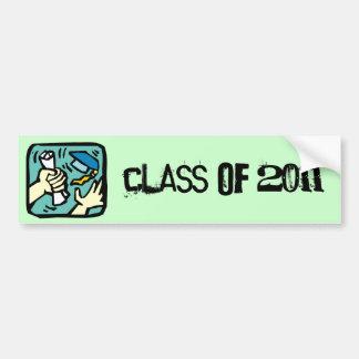 Grab That Diploma! Class of 2011 Bumper Sticker