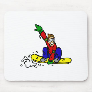 Grab The Board Mouse Pad