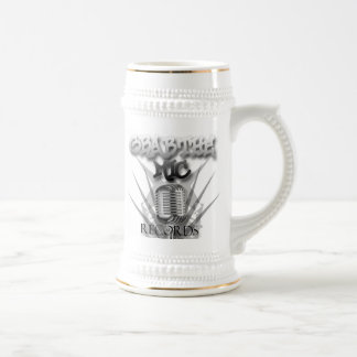 Grab the Mic Records stein 18 Oz Beer Stein