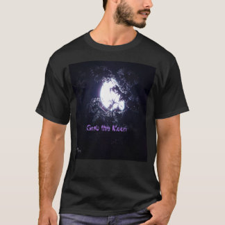 Grab the Moon  Black T-Shirt