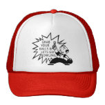 Grab Your Balls & Lets Go Bowling Trucker Hat