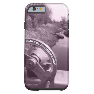 grab your life's steering wheel advice of life tough iPhone 6 case