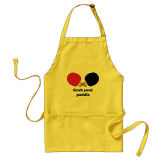 Grab Your Paddle Ping Pong Adult Apron