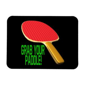 Grab Your Paddle Rectangular Photo Magnet