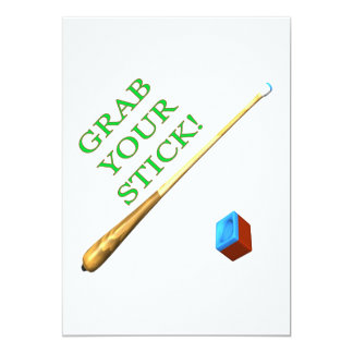 Grab Your Stick Card