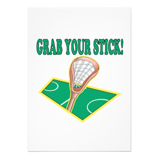 Grab Your Stick Announcement
