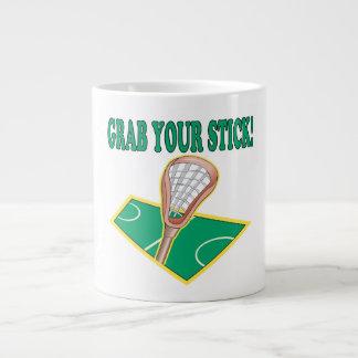 Grab Your Stick Large Coffee Mug