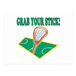 Grab Your Stick Post Cards