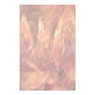 Grabación en relieve de cobre de la hoja de Lotus  Papelería