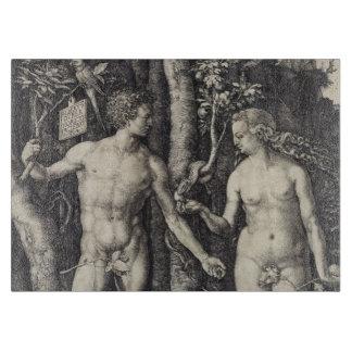 Grabado de Adán y de Eva de Albrecht Durer Tablas De Cortar