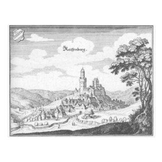 Grabado de cobre de Reiffenberg Tarjetas Postales