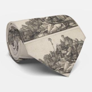 Grabado de San Antonio de Albrecht Durer Corbata Personalizada