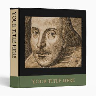"Grabado de Shakespeare Droeshout Carpeta 1"""