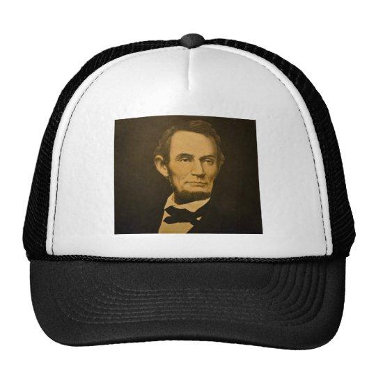 Grabado del vintage de presidente Abraham Lincoln Gorro De Camionero
