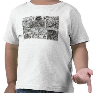 Grabado por Roberto Vaughan Camiseta