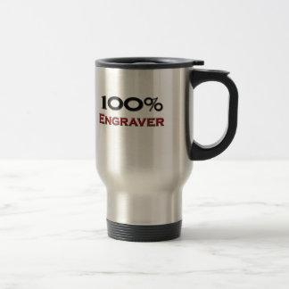 Grabador del 100 por ciento taza