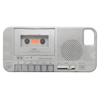 Grabadora del vintage iPhone 5 cobertura
