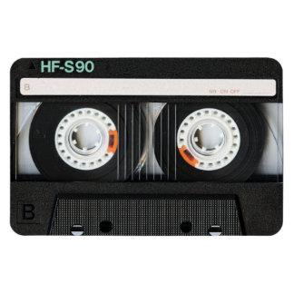 Grabadora retra de cinta del vintage 70s 80s iman de vinilo