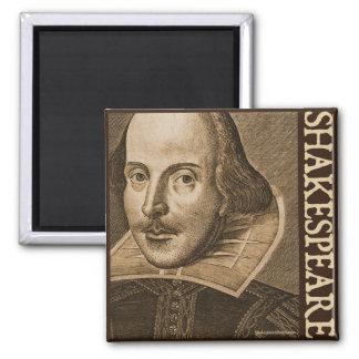 Grabados de Shakespeare Droeshout Imán Cuadrado