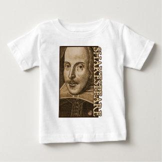 Grabados de Shakespeare Droeshout Playera Para Bebé