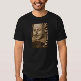 Grabados de Shakespeare Droeshout Remera