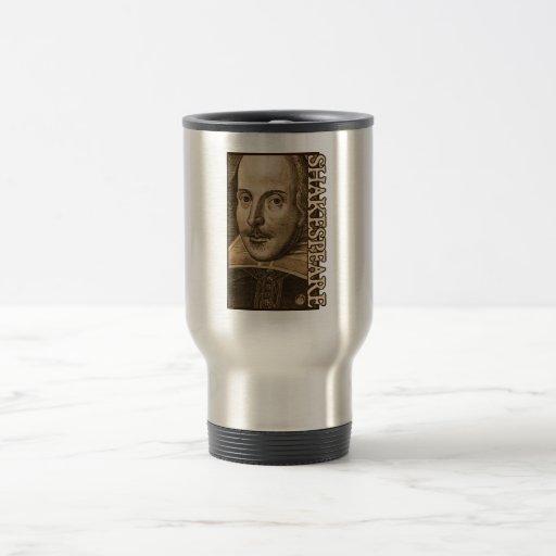 Grabados de Shakespeare Droeshout Taza De Café
