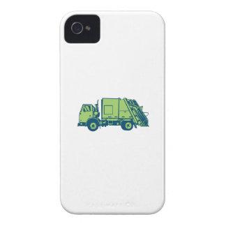 Grabar en madera del lado del cargador del extremo Case-Mate iPhone 4 carcasa