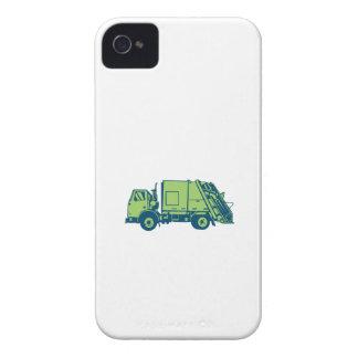 Grabar en madera del lado del cargador del extremo Case-Mate iPhone 4 cárcasas