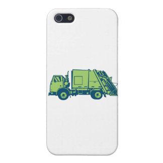 Grabar en madera del lado del cargador del extremo iPhone 5 carcasas