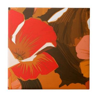 Grabar en madera del otoño de Donna Azulejo Ceramica