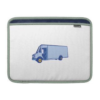 Grabar en madera lateral de Van de entrega Fundas Macbook Air